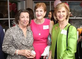 Junior League of Sarasota Sustainers invite Marie Benedict to legacy  luncheon - Nancy Bailey, Trish Fitzgerald and Myrna Welch | Your Observer
