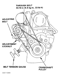 1992 honda civic serpentine belt routing and timing belt diagrams rh 2carpros 1992 honda accord lx belt routing 1997 honda accord belt diagram