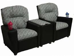 recliner chairs for kids. Plain For Kids 2 Seat Recliner Chairs U2013 For Home Theater With Storage Console And D