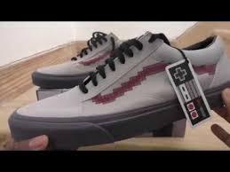 vans x nintendo. vans x nintendo old skool shoes (nintendo) console/dove