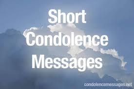 Short Condolence Quotes