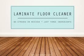diy laminate floor cleaner