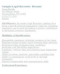 Paralegal Resume Sample – Resume Bank