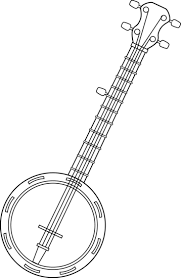 Small Picture banjo coloring pages print Google Search musical instruments