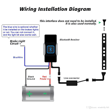 How To Install Led Lights On A Motorcycle Motorcycle Accent Led Wiring Schematics Wiring Diagram
