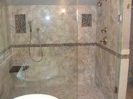 ... Beauteous Bathroom Decoration Using Various Tile Shower Wall Design :  Stunning Picture Of Bathroom Design And ...