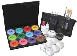 tag art face paint kit