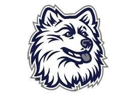 the university of connecticut husky logo