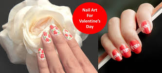 Nail Art for Valentine's Day (Hindi) - YouTube