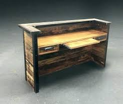 reclaimed wood office furniture reclaimed wood desk table like this item reclaimed wood home office furniture