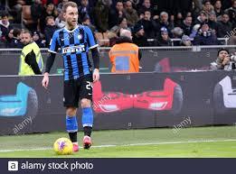 Milano, Italy. 29th January 2020 . Coppa Italia . Fc Internazionale vs Acf  Fiorentina. Christian Eriksen of FC Internazionale Stock Photo - Alamy
