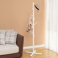 Coat Rack Tree Ikea Creatwo creative tree floor bedroom hallway coat rack hangers white 55