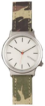 Наручные <b>часы KOMONO Wizard</b> Print Series Woodland-Camo ...