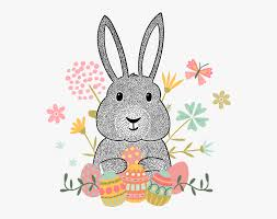 Thank You Easter Easter Bunny Euclidean Vector Hipster Clip Art Easter