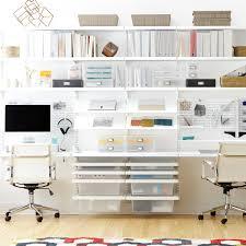 White elfa dcor Home Office ...