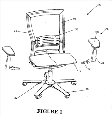 office chair drawing. Contemporary Chair Googlepatentsuchepatentofficechairdrawingusdgoogle To Office Chair Drawing