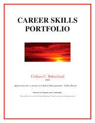 Free Professional Portfolio Cover Page Template