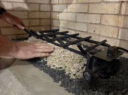 installing gas logs fireplace best fireplace 2017 how to install gas logs in a fireplace renopare