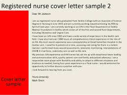Registered Nurse Cover Letter Template Cover Letter For Registered Nurse Coursework Sample