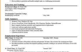 Food Service Resume Template Sample Office Administrator Resume