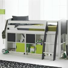 cabin bed with storage. Perfect Storage Scallywag Kids Contour Cabin Bed Including 3 Quad Storage Units Intended With O