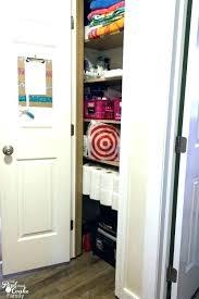 how to organize a deep linen closet deep narrow closet ideas small linen closet organization great
