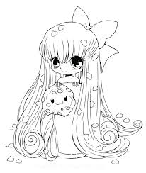 Cute Girl Lineart Free 15 Linearts For Free Coloring On