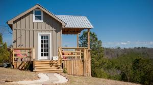 tiny house news. New College Professor Fulfills Dream Of Building Tiny House News