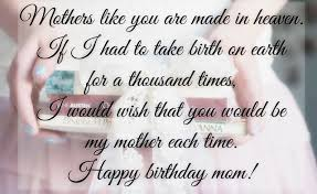 Beautiful Quotes For Moms Birthday Best Of Heart Touching 24 Happy Birthday MOM Quotes From Daughter Son