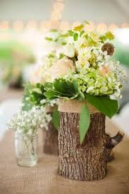 natural wedding table decorations - Google Search