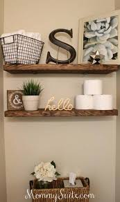 diy bathroom decor ideas. DIY Bathroom Decor Ideas For Teens - Floating Shelves Best Creative, Cool Bath Decorations Diy Projects