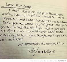 It S Not You It S Me Worst Break Up Letters