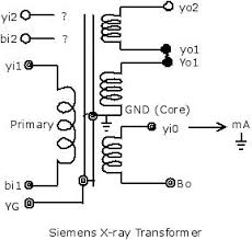 hv image 6 possible layout of siemens x ray transformer © frs 2014