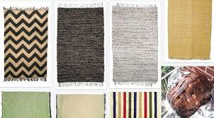 flat woven rug cotton