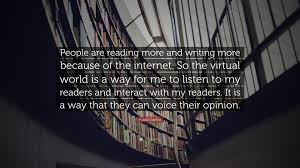 "Paulo Coelho Quotes Best Paulo Coelho Quote ""People Are Reading More And Writing More"