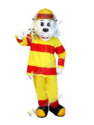 sparky the fire dog costume. sparky the fire dog mascot costume animal nfpa suit i