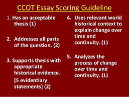 essay scoring ccot essay for ce ce ccot