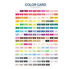 Artist Loft Sketch Markers Color Chart Touchnew 30 40 60 80 168 Colors Sketch Markers Pen Alcohol