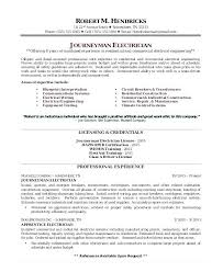 Electrical Resume Sample Electrical Engineer Resume Word On High