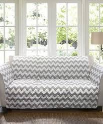 look at this lush decor gray white chevron sofa protector on today