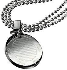 <b>Dolce</b> & <b>Gabbana D&G</b> DJ0675 'Flutter' Stainless Steel Necklace ...