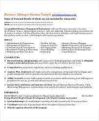 54 Manager Resumes In Pdf | Free & Premium Templates