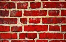 red brick wall painting stock photo 8572980