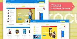 Free Ecommerce Website Templates Stunning Ecommerce Template Download Crocus Fashion Template Ecommerce
