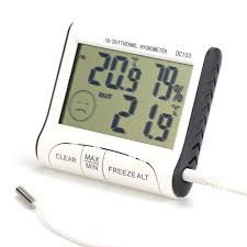 <b>Digital Thermometer Hygrometer Electronic</b> LCD Temperature ...