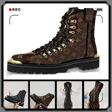 branded men women stellar leather sneaker boot designer lady canvas side zip flat rubber outsole hi top casual shoes 35 45 black knee high boots chukka