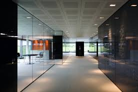 glass wall office. Glass Wall Office Option -3 L