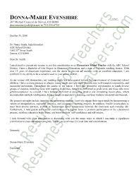 elementary teacher cover letter sample cover letter sample  elementary teacher cover letter sample