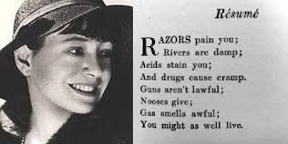 Rsum by Dorothy Parker