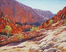 outback australia graham gercken by artsaus graham gerckenalice springslandscape artlandscape
